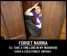 Time Lord of Narnia?