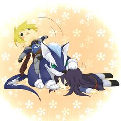 Yuri, Flynn, and Repede from The First Strike