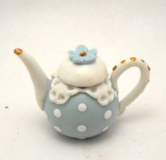 1/12TH scale just a simple romantic teapot by Lory by 64tnt