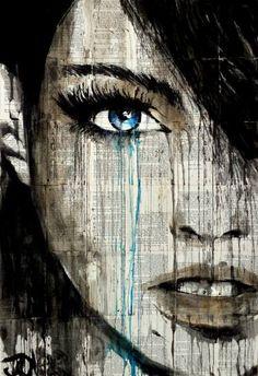 "Saatchi Art Artist Loui Jover; Drawing, ""alive"" #art"