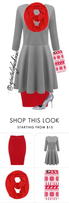 """Apostolic Fashions #958"" by apostolicfashions on Polyvore featuring Casetify and Manolo Blahnik"