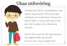 frk linn: Søkeresultat for Ukas utfordring Math Stations, Early Learning, Teacher, Education, Children, Maths, Montessori, School Ideas, Cute Kids