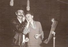 Christine Sèvres et Jean Ferrat janvier 1969