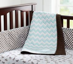 I love the Levi Nursery Bedding on potterybarnkids.com...I think potterybarn out did themselves!  Super cute.