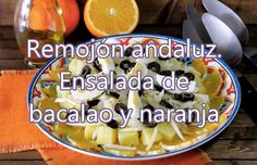 Cómo hacer remojón andaluz | Receta de ensalada de naranja y bacalao