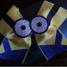 Minion cheer bow