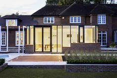 glass extension on traditional house - Google Search