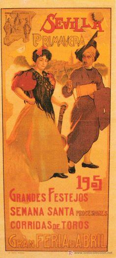 Cartel Feria de Primavera de Sevilla 1905