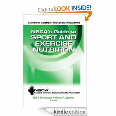 14 best nsca nasm acsm images on pinterest ejercicio exercise nscas guide to sport and exercise nutrition science of strength and conditioning series by nsca national strength conditioning association 2031 fandeluxe Image collections
