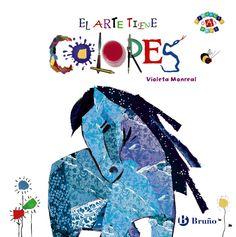 0-4 AÑOS. El arte tiene colores / Violeta Monreal. El libro hace un recorrido por seis destacadas obras de pintores famosos: Goya, Klimt, Marc, Van Eyck, Modigliani y Matisse. En los cinco primeros cuadros se destaca un color (rojo, amarillo, azul, verde y naranja); el último, el de Matisse, reúne todos los colores que se han ido destacando, y el niño ha de identificarlos en los diferentes objetos representados en dicho cuadro.