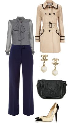 """The 'Take Me Seriously' Business Attire"" by crcockrell ❤ liked on Polyvore"