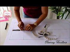Como fazer o Molde do Bercinho Ninho. PARTE 01 - YouTube