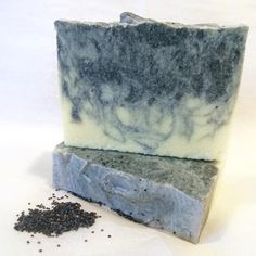 Midnight in Santorini  Salt Soap with Tea by NittyGrittyProducts
