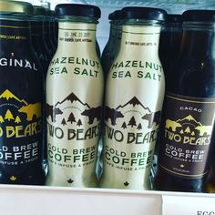 We've got some brand new products on our shelves here's one my new faves Two Bears Cold Brew Coffee  @twobearscoffee check them out! #teamleeandmarias #organic #supportlocal #momandpopshop