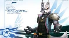 Wolf O'Donnell Wallpaper by JECBrush.deviantart.com on @deviantART