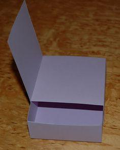 Lottas vrå: Utlovad beskrivning på ask med kort i locket Journal Paper, Craft Box, Card Making, Paper Crafts, Gift Wrapping, Templates, Scrapbooking Ideas, Floral, Journals