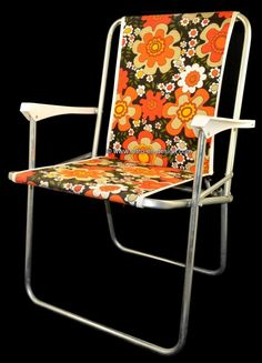 Vintage folding chair Imagine yourself all the way back to the campsite in. Vintage folding chair Imagine yourself all the way back to the campsite in the beautiful summer of the with