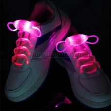 LED-kengännauhat, pinkki