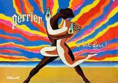 Vintage Advertising Posters | Perrier Water