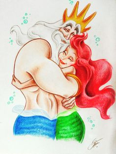 """leledraw: """" I love you ,Dad """"Art by LeleDraw ( Visit my page Here)"""