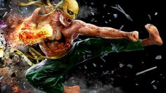 Iron Fist - Fan Art Created by John Gallagher