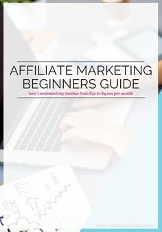 Take a look at this Affiliate Marketing Basics Beginners Guide. It covers everything you need to know to get started and tips that will help you to be successful. Plus, get my free checklist that will help you make small changes to your blog to increase y