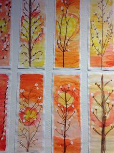 Kuvis ja askartelu 3 - www.opeope.fi Easter Art, Easter Crafts, Fall Crafts, Arts And Crafts, School Art Projects, Spring Art, Autumn Art, Art Classroom, Art Activities
