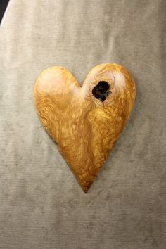 Wood carving Olive wood Heart Valentines day by treewiz on Etsy, $56.00