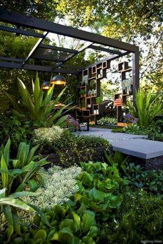 Cool pergola Melbourne Landscape Design - Melbourne Garden Show 2013 Landscape Design Melbourne, Melbourne Garden, Landscape Lighting Design, Modern Landscape Design, Modern Landscaping, Backyard Landscaping, Landscaping Ideas, Backyard Pergola, Pergola Kits