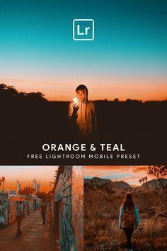Orange And Teal Lightroom Mobile Preset Free Download Today Create Bea Free Lightroom Presets Portraits Lightroom Presets Portrait Best Free Lightroom Presets