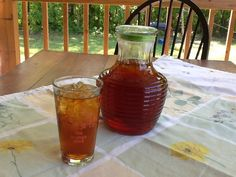 Nana's Little Kitchen: Real Sweet Tea!  Trim Healthy Mama Style