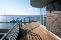 Röben Klinker, Bricks | Brick-Design® Weserloft Bremerhaven: Röben Architektursortierung WESTMINSTER