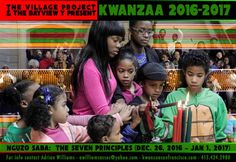 JOIN THE VILLAGE PROJECT FOR KWANZAA, 2016 Alabama Mike opens first day of Kwanzaa, 2016 @ the Museum of the African Diaspora 11th Kwanzaa Celebration, Umoja (Unity) Dec. 26th, 12 Noon The V…