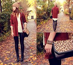 Burgundy autumn (by Dominique B.) http://lookbook.nu/look/4158730-burgundy-autumn