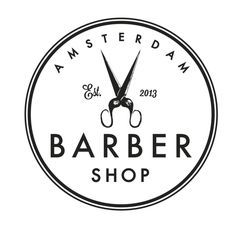 Brand Identity for Amsterdam Barber Shop on Behance Barber Shop Names, Old School Barber Shop, Barber Shop Decor, Man Cave Barber, Mobile Barber, Barber Logo, Hair Barber, Japan Logo, Hair Shop