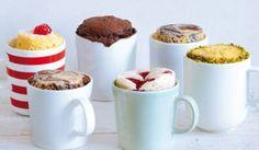 Les recettes de Mug Cakes sur http://www.thetrendygirl.net