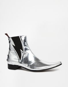 Jeffery West Lightning Chelsea Boots