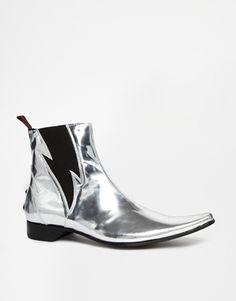 Jeffery West Lightning Chelsea Boots