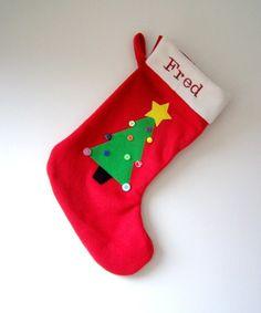 Personalised Christmas Stocking £12.50