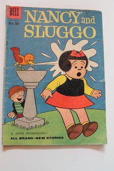 4 Vintage Nancy Sluggo Dennis the Menace comic book by WunderFun, $10.00