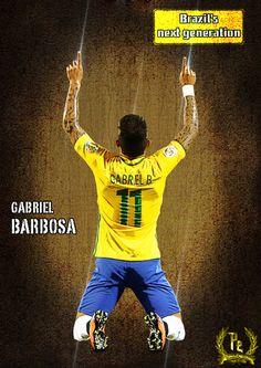 Gabriel Barbosa by PanosEnglish.deviantart.com on @DeviantArt