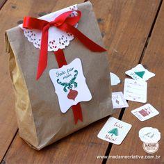 Christmas wrap idea - Pacotes de presentes para o Natal fácil