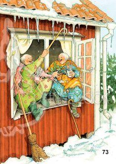 Antique Illustration, Funny Illustration, Illustrations, Old Lady Humor, Art Pictures, Photos, People Art, Fairy Land, Marjolein Bastin