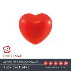 Artículos Promocionales - Productos Publicitarios - Corazón Anti Estrés