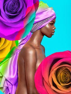 Photographer Luis Guillen's Snaps a Flower Powered Beauty Editorial
