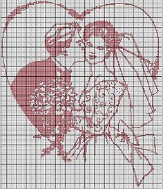 Grilles Mariage - Grille Mariage - Les mariés… - Les mariés - Mariage en vue - Promesses d'amour... - Le blog de Mamou
