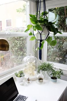 How to make your small office space look and feel bigger, (and happier) - Emily Henderson