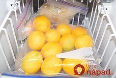 Viete, prečo by ste mali zmraziť citróny? Nordic Interior, Natural Medicine, Organic Beauty, Healthy Lifestyle, Frozen, Food And Drink, Health Fitness, Herbs, Canning