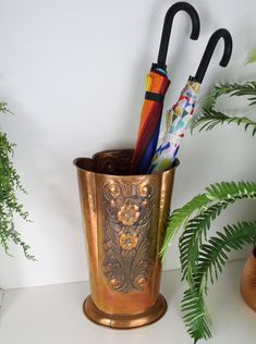 Excited to share the latest addition to my #etsy shop: Vintage Copper Unbrella Stand, Hand Hammered Umbrella Stand, Walking Stick Stand, Hallway Prop, Detailed Copper Umbrella Stand, Copper Decor #copper #umbrellastand #copperfolkstyle #foliageandflowers #hallwaydecor #copperumbrella #1970sdecorcopper #copperstyling