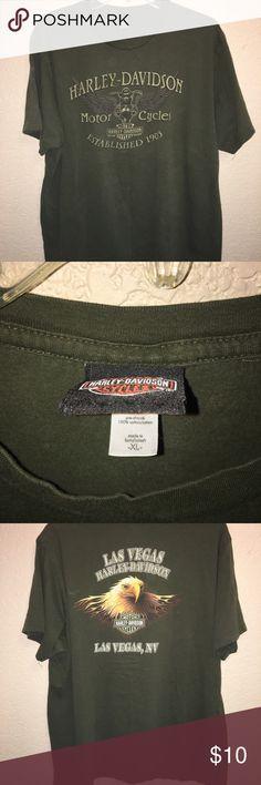 HARLEY DAVIDSON SHIRT SZ XL Used Harley-Davidson Shirts Tees - Short Sleeve